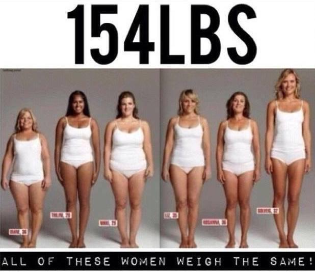 154# women body size
